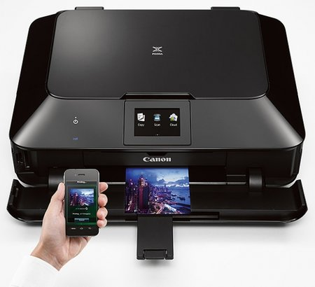 Canon unveils new Pixma social printers for Flickr, Facebook, Dropbox and Twitter printing right from the printer's screen
