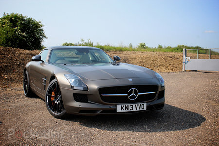 Mercedes-Benz SLS AMG GT Coupe pictures and hands-on - photo 1