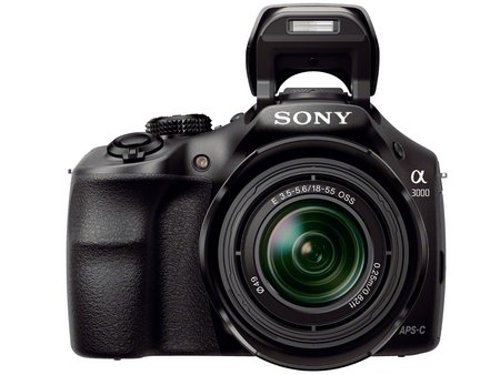 Sony A3000 E-mount camera shoots for the entry-level in DSLR style