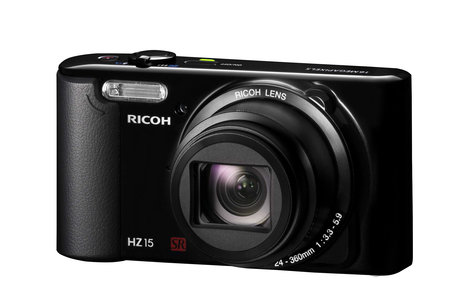 Ricoh offers HZ15 digital camera, 5 HD Pentax lenses and auto flash units - all in September