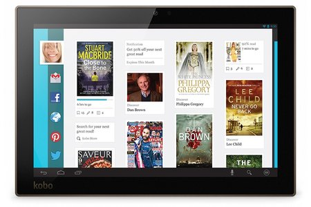 Kobo fills gap left by Barnes & Noble with new eBook reader and tablet line-up - photo 3