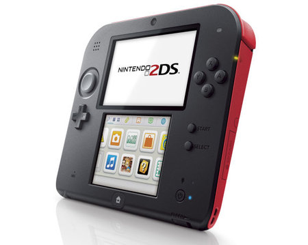Nintendo 2DS announced for 12 October release, ditches the 3D and clamshell design