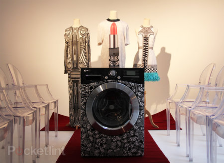 LG Holly Fulton customisable washing machine tells your smartphone when it's feeling poorly
