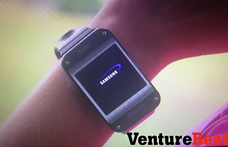 "Samsung Galaxy Gear smartwatch pictures and details leak, but final design ""not as boxy"""