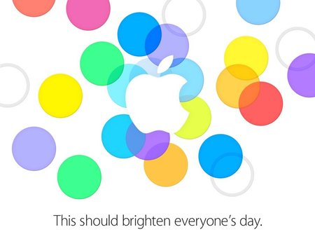 Apple officially schedules 10 September press event, iPhone 5S and iPhone 5C expected