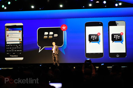 BlackBerry Messenger for Android beta shown off in leaked video, reminiscent of the BB10 version