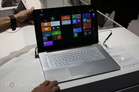 Sony Vaio Fit multi-flip PC makes IFA debut: We go hands-on with the laptop-meets-tablet - photo 1