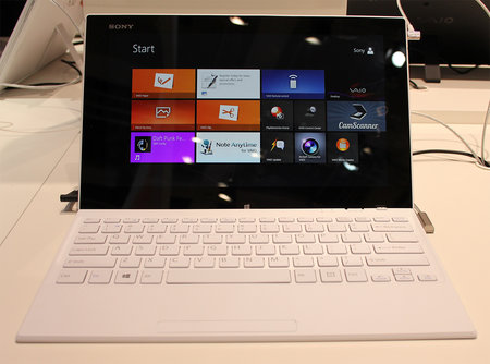 Sony Vaio Tap 11 pictures and hands-on