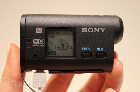 Sony Action Cam HDR-AS30V pictures and hands on