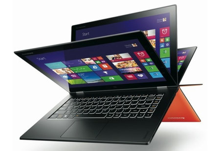 Lenovo Yoga 2 Pro boasts 13-inch 3200 x 1800 screen, that's plenty of pixels in anybody's language