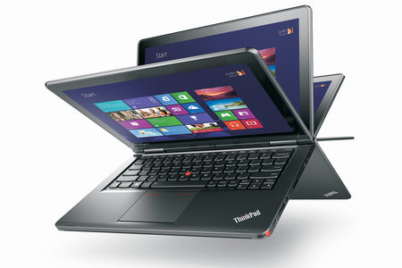 Lenovo ThinkPad Yoga adopts the multi-position form factor, but with a business suit on