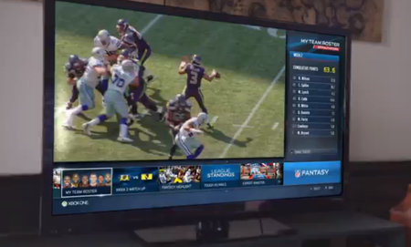First Xbox One ad conveniently timed for the beginning of the NFL season