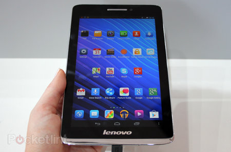 Lenovo S5000 tablet pictures and hands-on