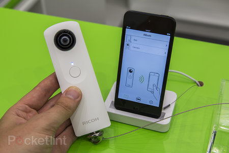 Ricoh Theta hands-on: we explore Ricoh's 360-degree, app-controllable camera - photo 3