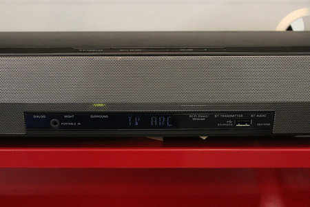 Pioneer's new SBX-N700 speaker bar and Bluetooth player gets the hands-on treatment