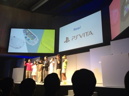 New thinner, lighter, longer battery life PlayStation Vita due to hit your hands on 10 October