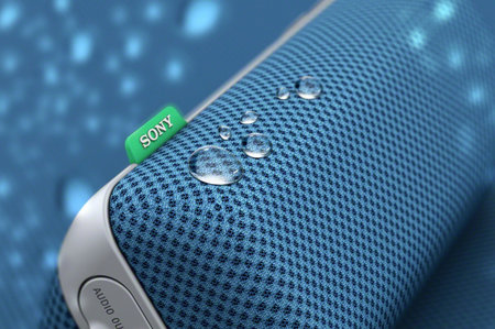 Sony's portable, fabric, splashproof, Bluetooth, NFC speaker to arrive on 19 October