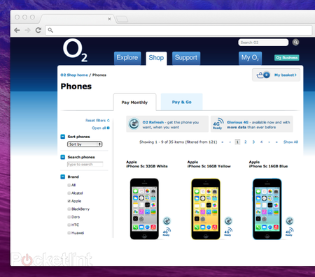 O2 prices iPhone 5S and iPhone 5C, but 4G looks to be delayed