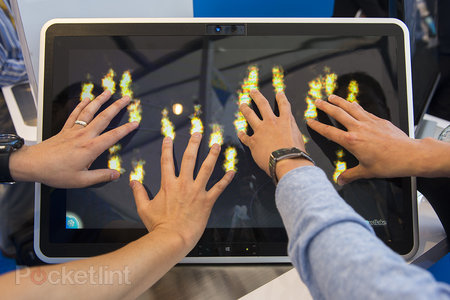Intel demoes 20-point touch on Windows 8, we go (lots of) hands-on