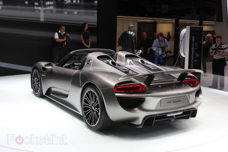 Porsche 918 Spyder pictures and hands-on - photo 4