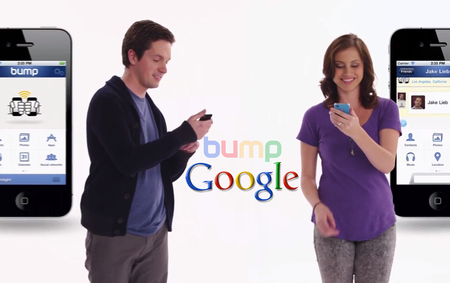 Google acquires Bump, the startup behind tap-to-share app Bump