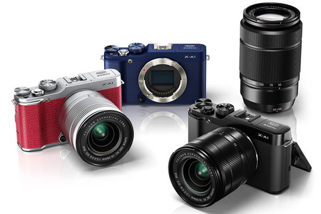 Fujifilm X-A1 goes after the entry-level market with £530 interchangeable lens camera out this October
