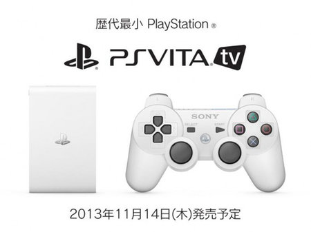 Sony PS Vita TV heading to China and South Korea in 2014, but European release unlikely