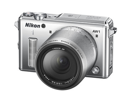 Nikon 1 goes waterproof with AW1, the first submersible compact system camera