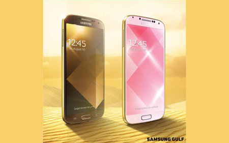 Samsung hops onto gold bandwagon with Gold Pink and Gold Brown Galaxy S4 editions