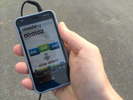 Adidas miCoach (Windows Phone 8) with Adidas heart rate monitor review - photo 3