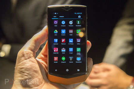 Vertu Constellation hands-on, we handle the £4,200 fashion phone - photo 2