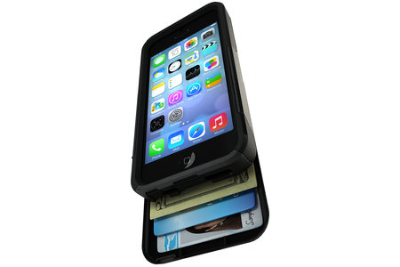 Otterbox Commuter Series Wallet for iPhone 5, 5S and Samsung Galaxy S4 keeps your money and credit cards safe