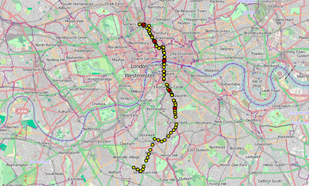 Website of the day: Live London Bus Map
