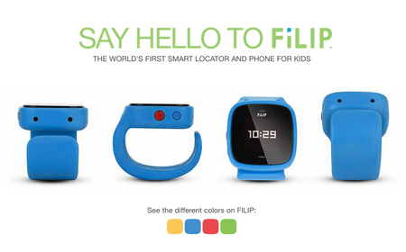 US carrier AT&T shows off FiLIP, an electronic wrist-wearable for tracking kids