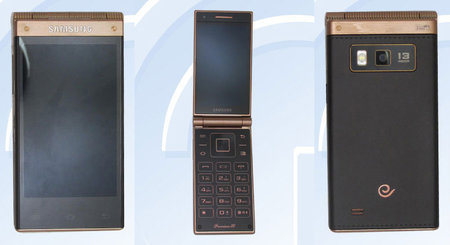 New Samsung flip-phone SM-W2014 arrives without warning, with Snapdragon 800 processor