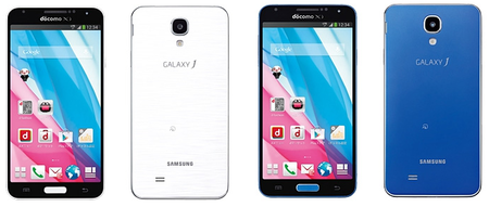 Samsung Galaxy J officially announced, bringing a Note 3 and S4 mix to Japan