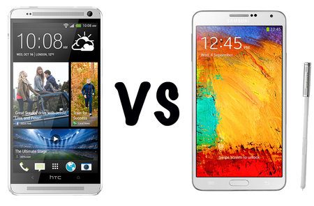 HTC One max vs Samsung Galaxy Note 3: What's the difference?