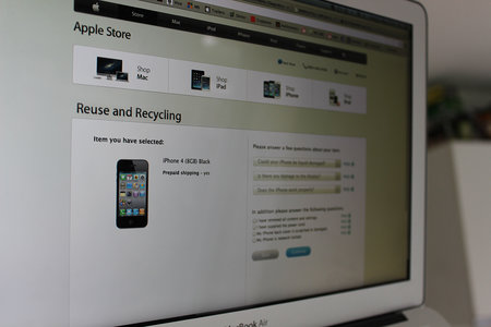Apple Reuse and Recycling Programme goes live in UK Apple Stores today