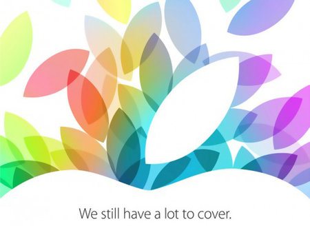Official: Apple to host event on 22 October
