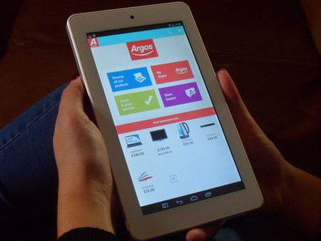 Argos' MyTablet with Android 4.2.2 to launch 16 October for £100 - photo 1