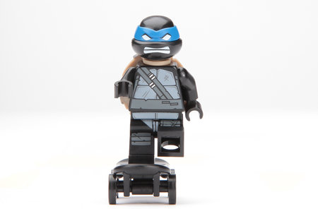 Win: Limited edition LEGO Teenage Mutant Ninja Turtle Minifigure