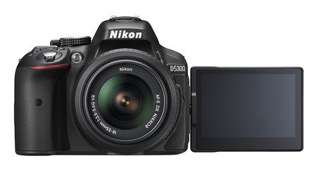 Nikon D5300 DSLR is all about connectivity: Wi-Fi and GPS on board, new processor and more
