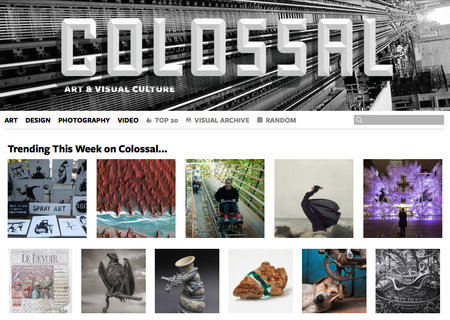 Website of the day: Colossal