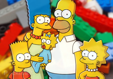 The Simpsons Lego set and minifigs to release in April/May 2014