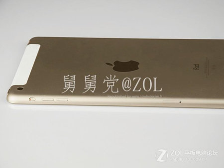 Alleged iPad mini 2 leaks in gold with Touch ID ahead of Apple event - photo 2