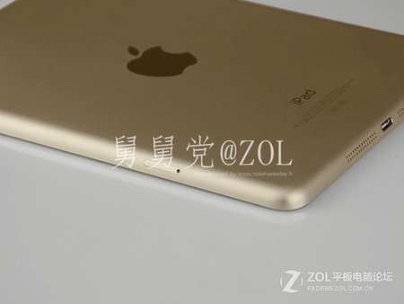 Alleged iPad mini 2 leaks in gold with Touch ID ahead of Apple event - photo 5