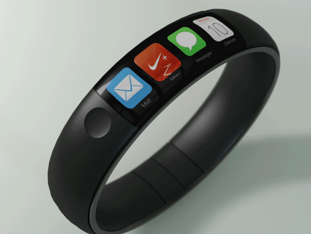 Latest iWatch concept is stylish, brings FuelBand-like design with iOS 7 - photo 1