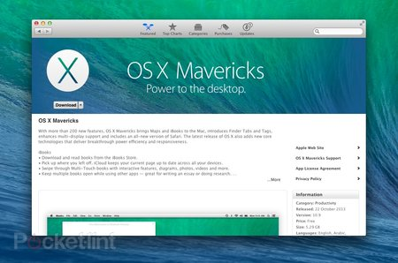 Apple OS X Mavericks review