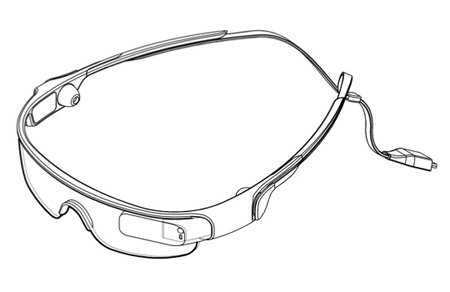 Samsung patent tips Google Glass competitor - photo 1