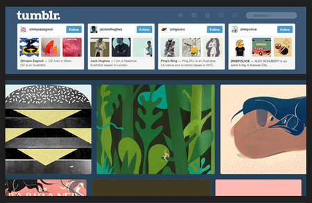 Need to find a GIF? Tumblr Search adds hashtag queries, filter menu
